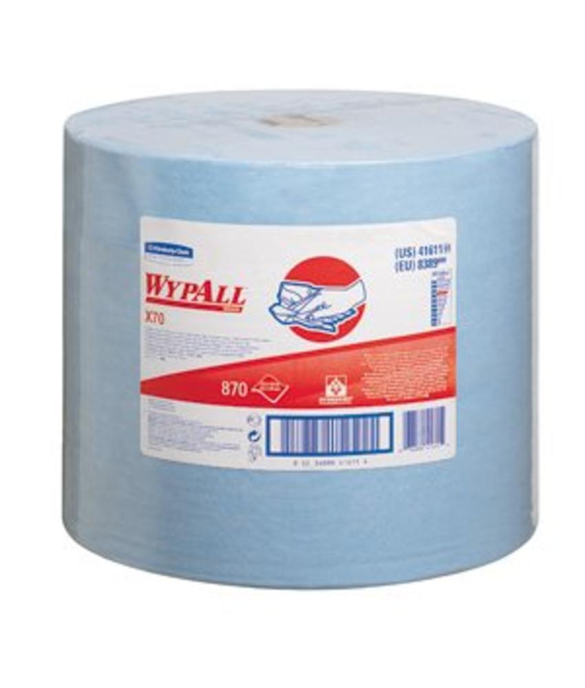 WYPALL* X70 Doeken - grote rol - Blauw
