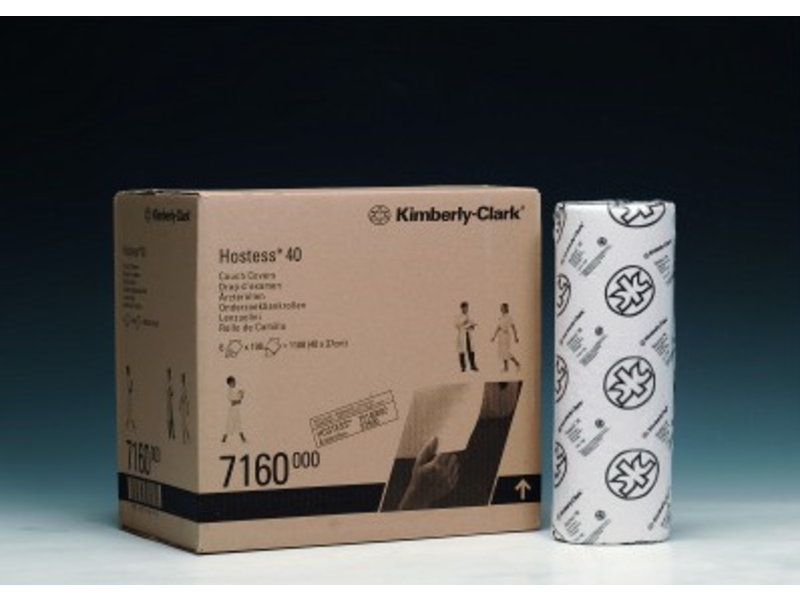 Kimberly Clark  HOSTESS* 40 Onderzoekbankrollen - Wit