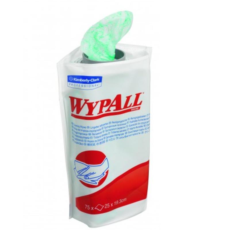 WYPALL* Handreinigingsdoeken Navulling - 6 - Groen