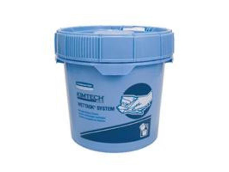 Kimberly Clark  WETTASK* Poetsdoek Dispenser - Emmer - Blauw