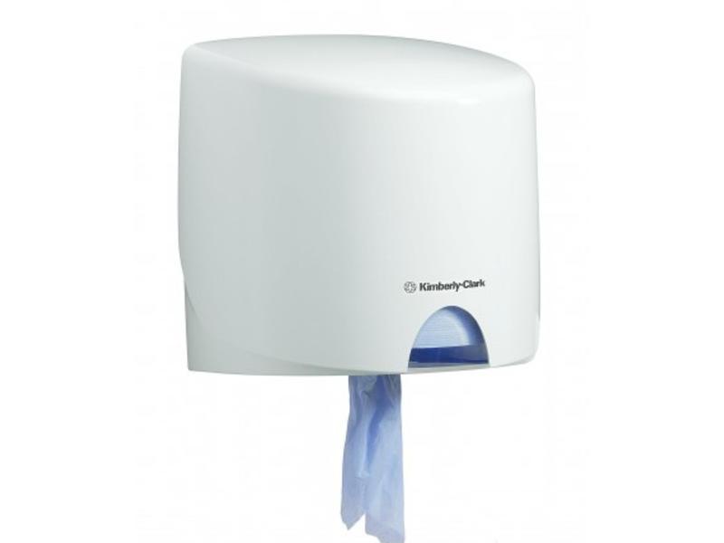 Kimberly Clark AQUARIUS* Poetsdoek Dispenser - Roll Control - Wit