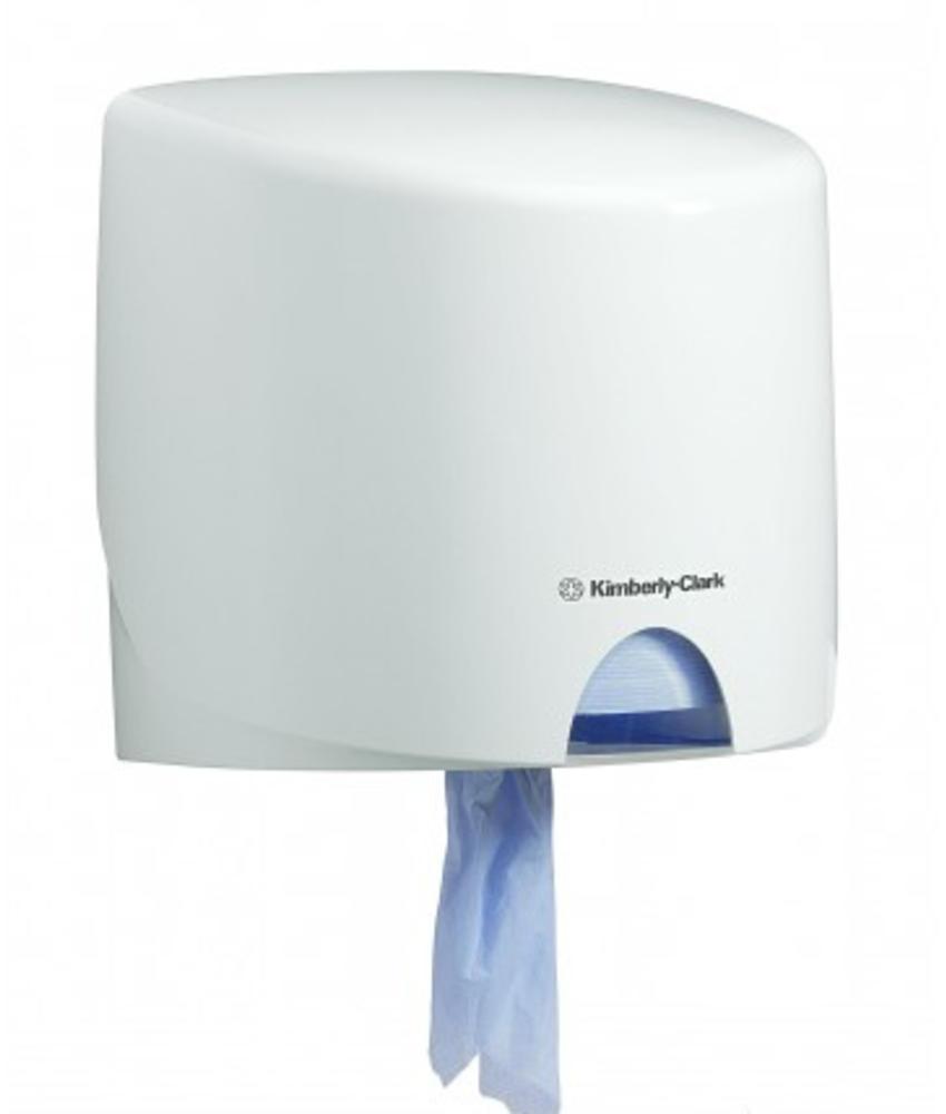 AQUARIUS* Poetsdoek Dispenser - Roll Control - Wit