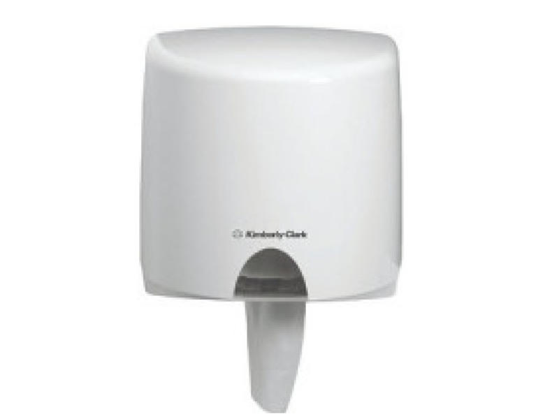 Kimberly Clark AQUARIUS* Poetsdoek Dispenser - Centrefeed Rol - Wit