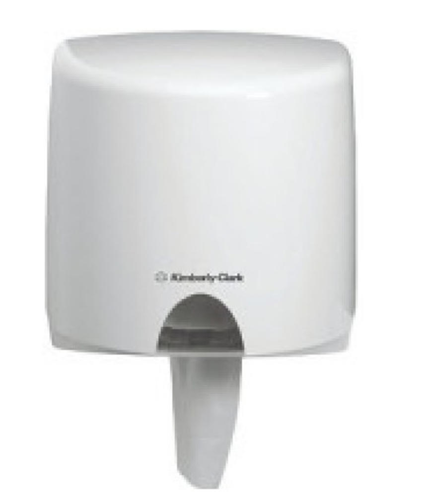 AQUARIUS* Poetsdoek Dispenser - Centrefeed Rol - Wit