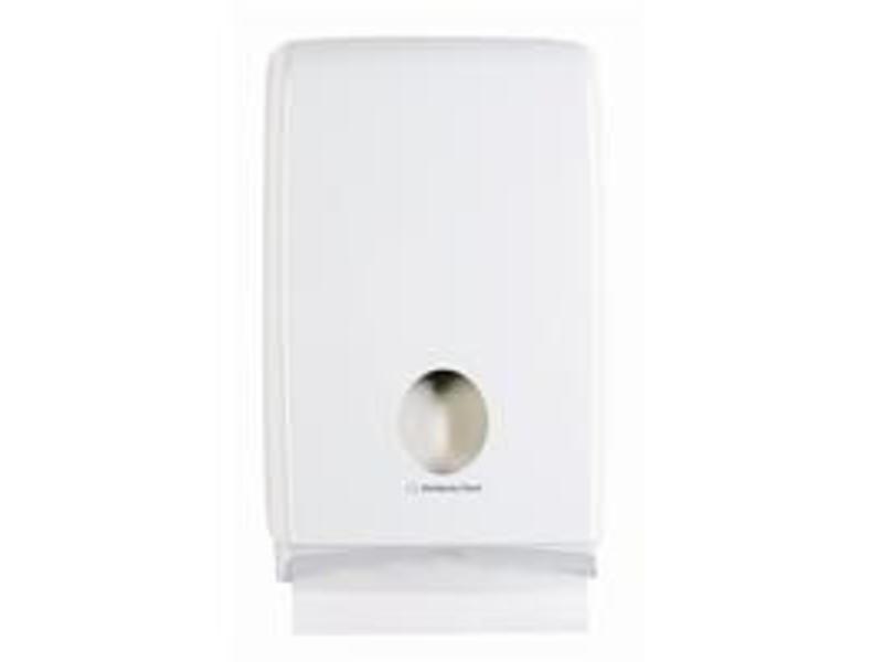 Kimberly Clark AQUARIUS* SLIMFOLD Gevouwen Handdoek Dispenser - Wit