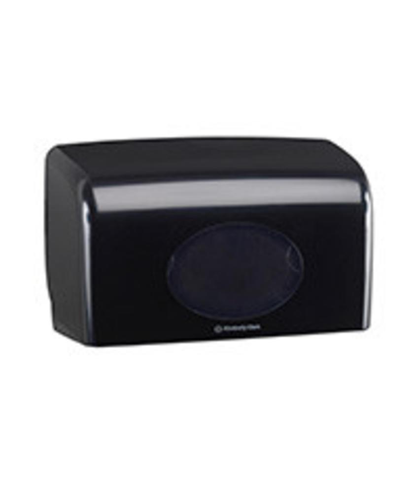 AQUARIUS* Toilettissue Dispenser - Kleine rollen - Zwart