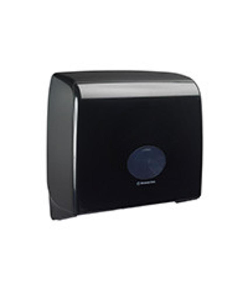 AQUARIUS* Toilettissue Dispenser - Jumbo Non-Stop - Zwart