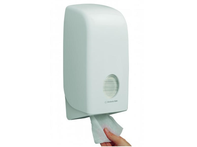 Kimberly Clark AQUARIUS* Toilettissue Dispenser - Wit