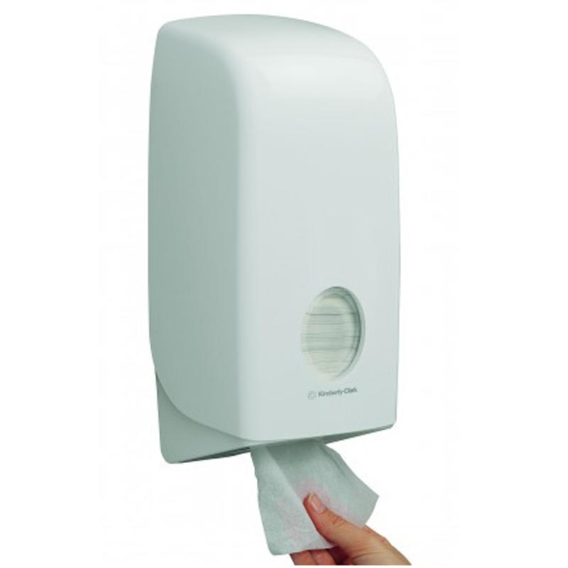 AQUARIUS* Toilettissue Dispenser - Wit