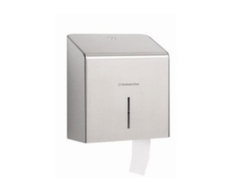 Kimberly Clark KIMBERLY-CLARK PROFESSIONAL* Toilettissue Dispenser - Mini Jumbo - Roestvrij staal