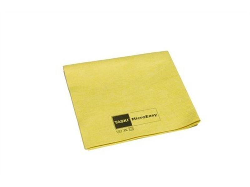 Johnson Diversey TASKI MicroEasy reinigingsdoek - geel - 5 stuks