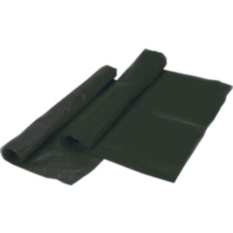 TASKI Afvalzakken 80x110 cm zwart - 130 liter - 70my LDPE - 10 rollen - 10 stuks