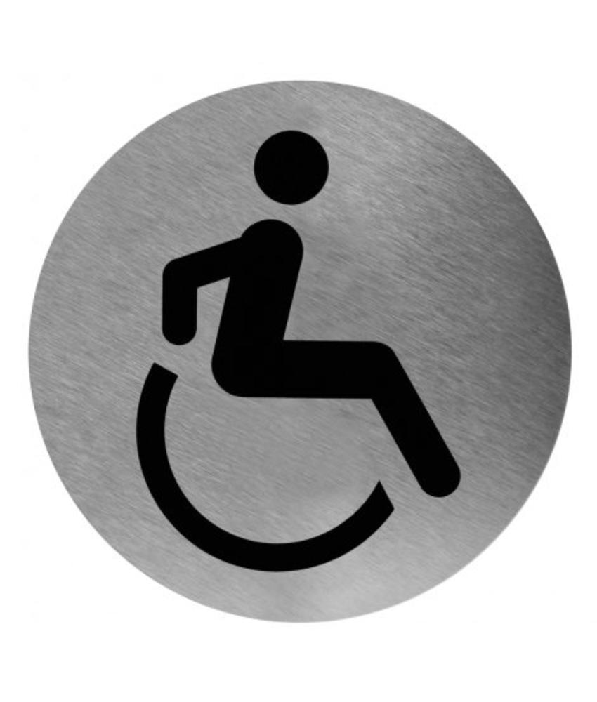 Medicare Pictogram invalide toilet RVS