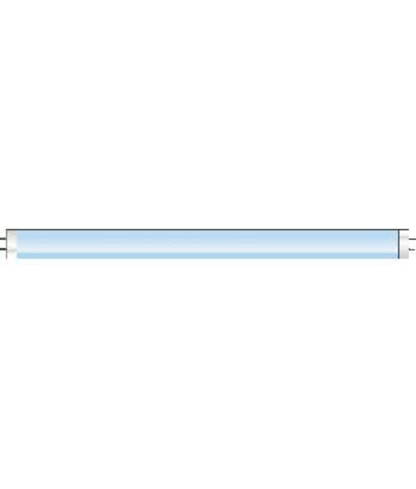 UV-Lamp recht Plus - blauw 368 nm 6 Watt - 225mm T5