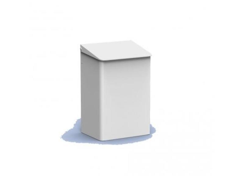 PlastiQline PlastiQline Afvalbak 15 liter wit