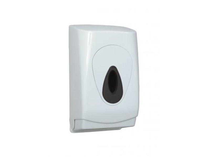PlastiQline PlastiQline Toilet tissue dispenser kunststof