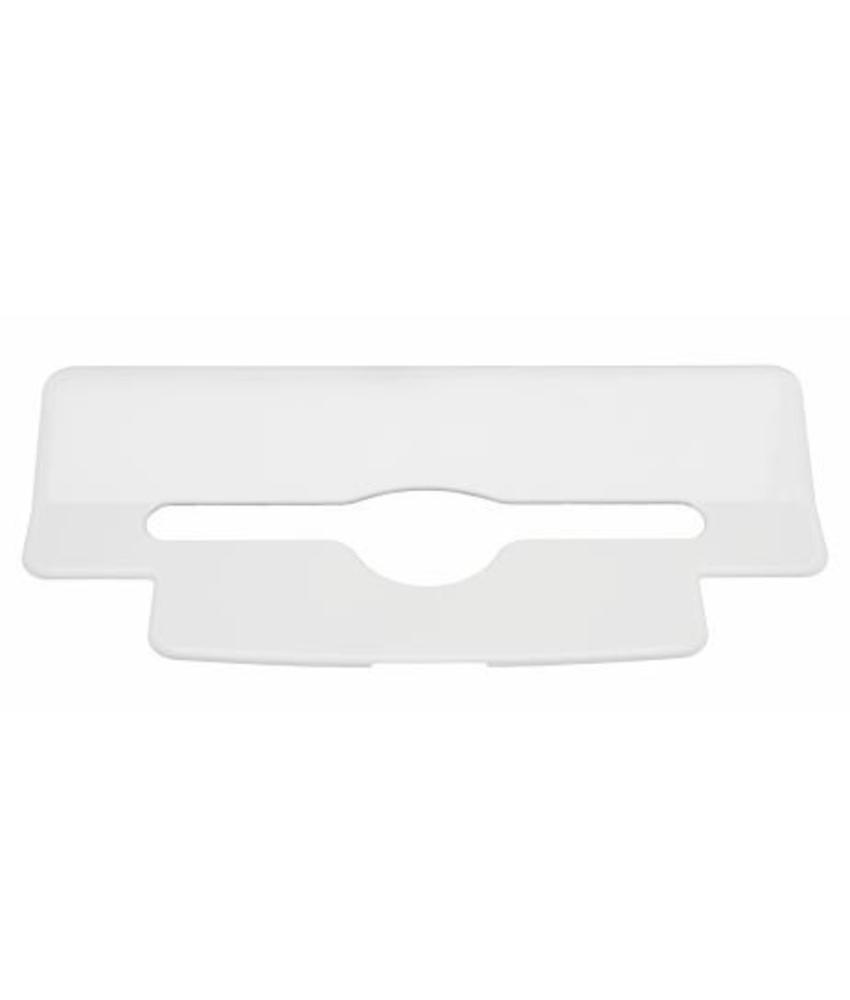 PlastiQline Inlegplaatje handdoekdispenser kunststof