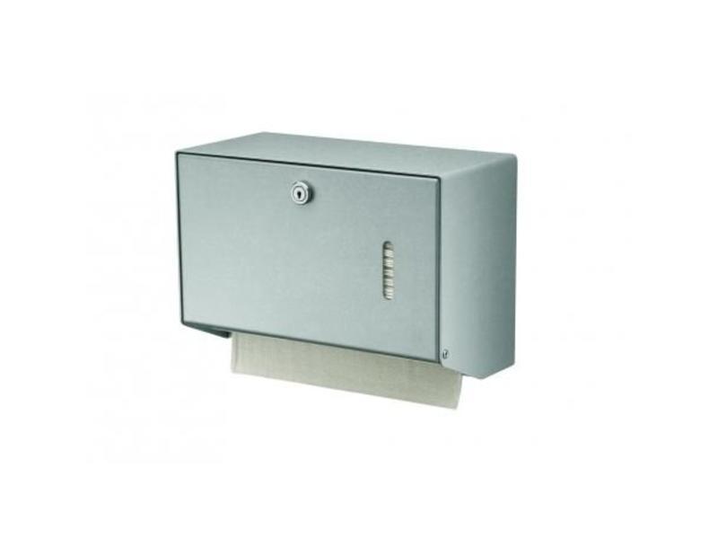 MediQo-line MediQo-line Handdoekdispenser aluminium klein