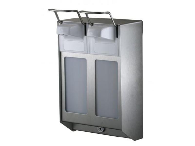 MediQo-line MediQo-line Zeep- & desinfectiemiddeldispenser 1000 ml KB RVS