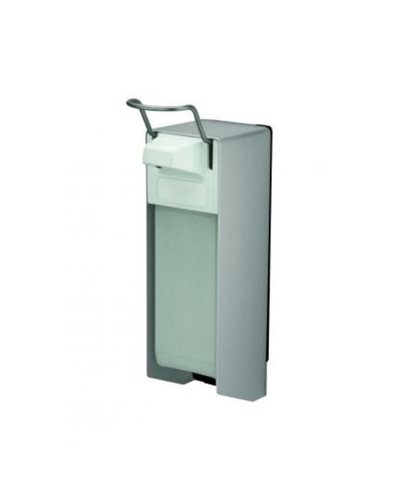 MediQo-line Zeep- & desinfectiemiddeldispenser 1000 ml KB aluminium