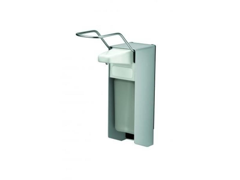 MediQo-line MediQo-line Zeep- & desinfectiemiddeldispenser 500 ml LB aluminium