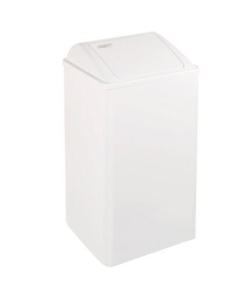 Mediclincs Afvalbak gesloten 65 liter wit