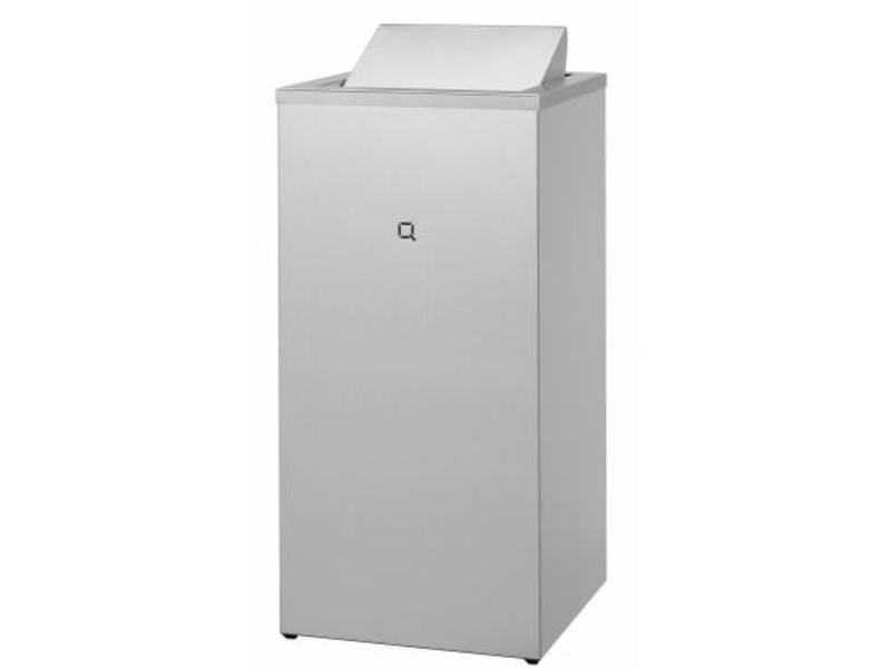 Qbic-line Qbicline Afvalbak gesloten 85 liter