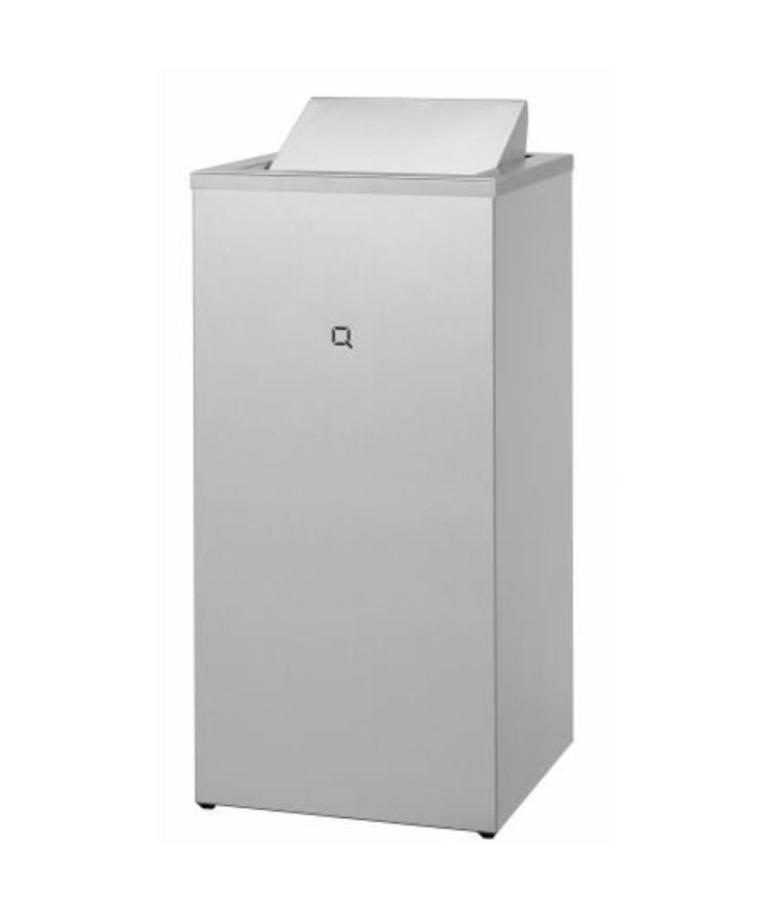 Qbicline Afvalbak gesloten 85 liter
