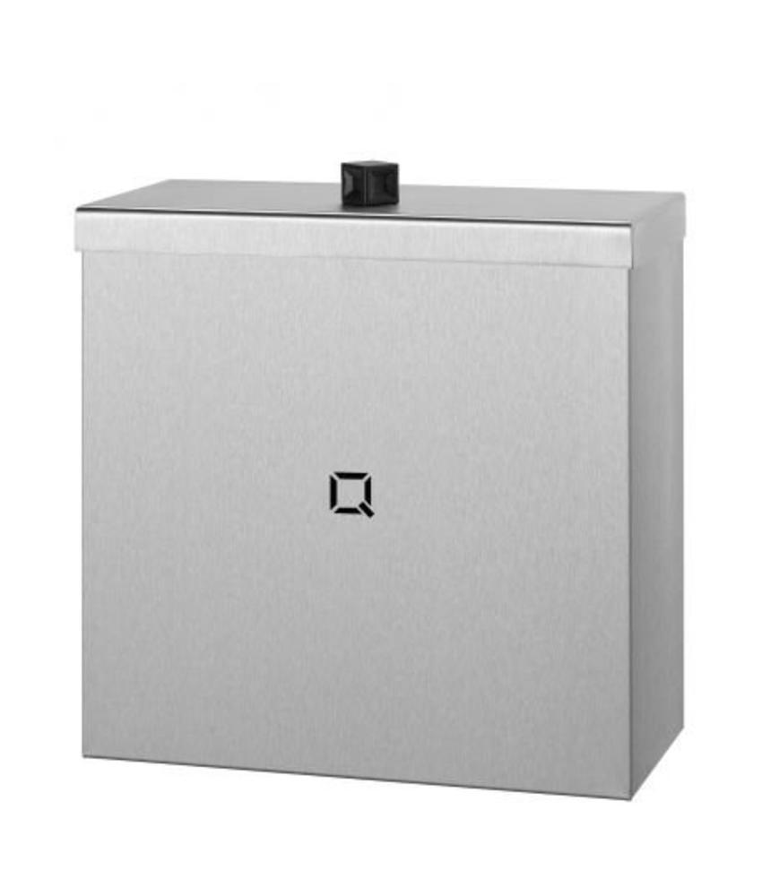 Qbic-line Afvalbak gesloten 9 liter