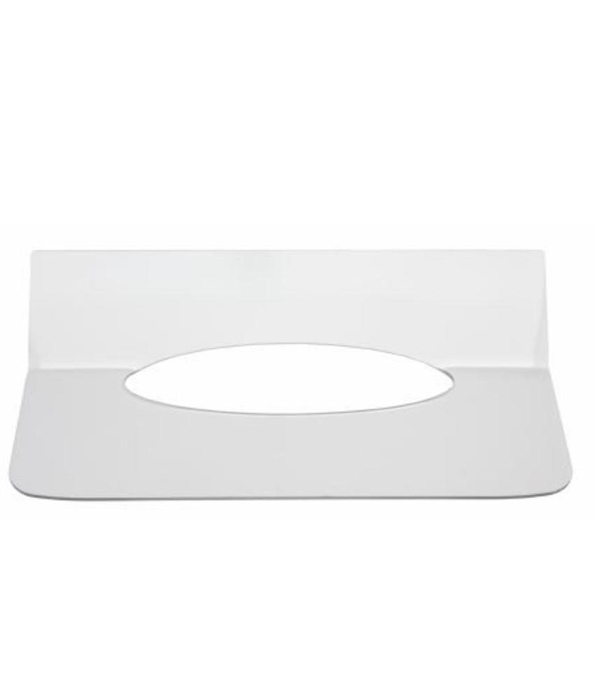 Inlegplaatje handdoekdispenser