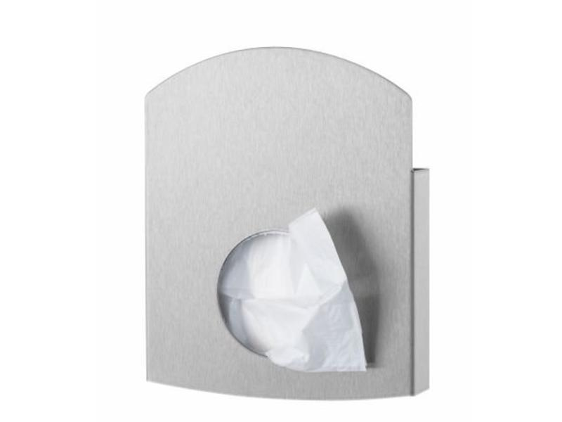 PlastiQline Exclusive Hygienezakjeshouder RVS PlastiQline Exclusive