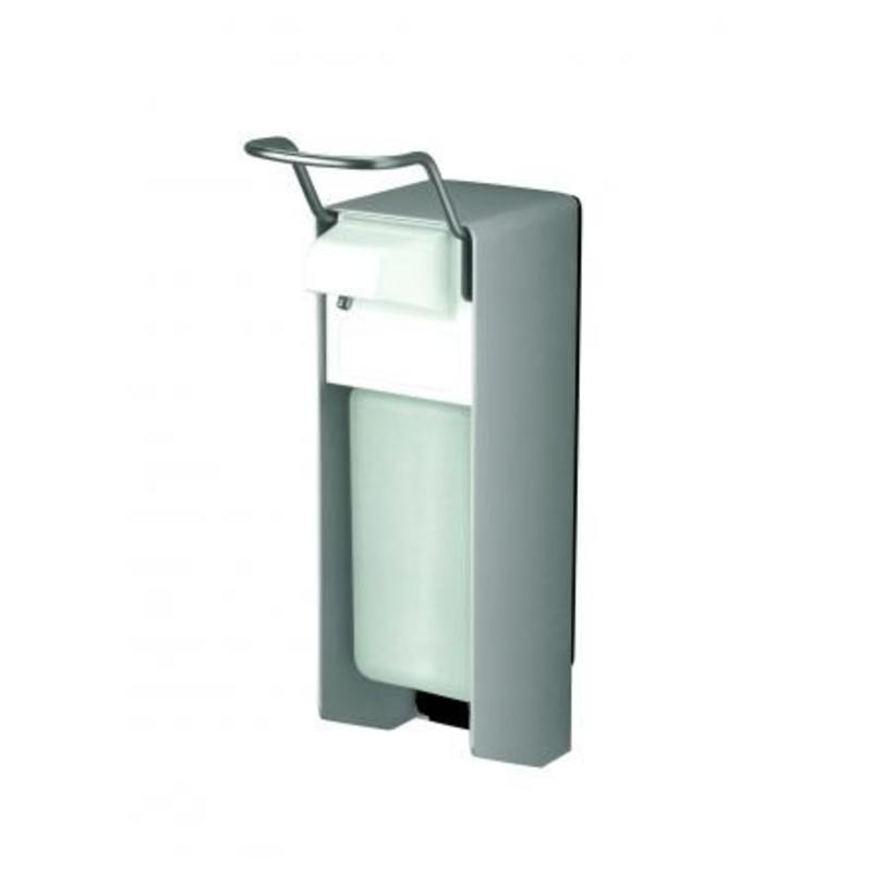 MediQo-line Zeep- & desinfectiemiddeldispenser 500 ml KB aluminium