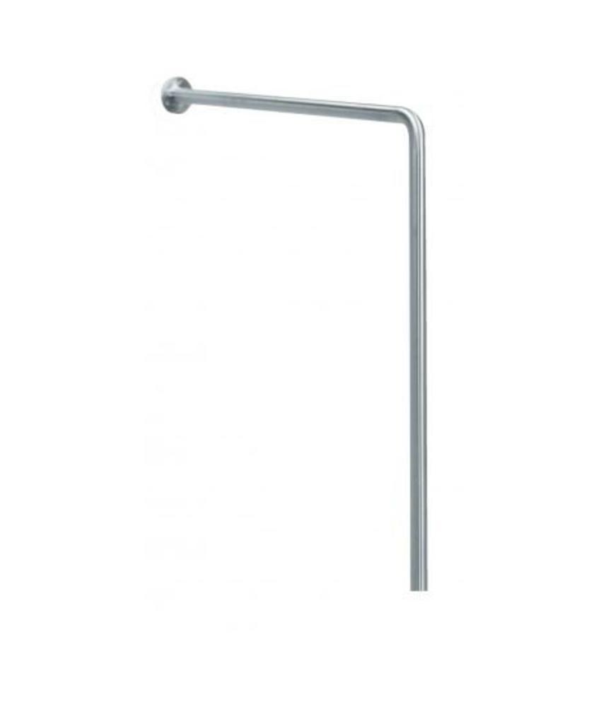MediQo-line Wand -> vloergreep inbouw RVS