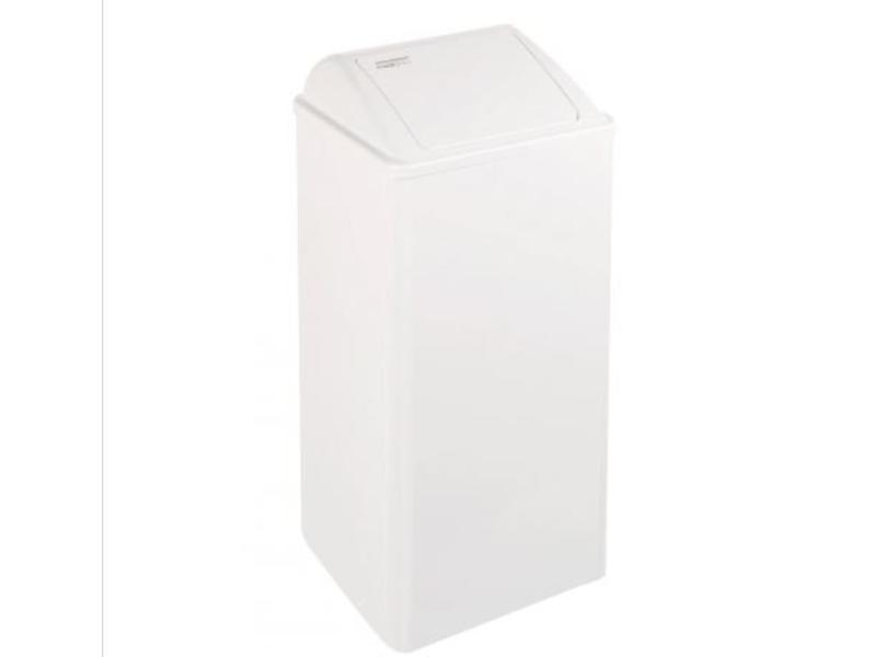 Mediclinics Mediclinics Afvalbak gesloten 80 liter wit