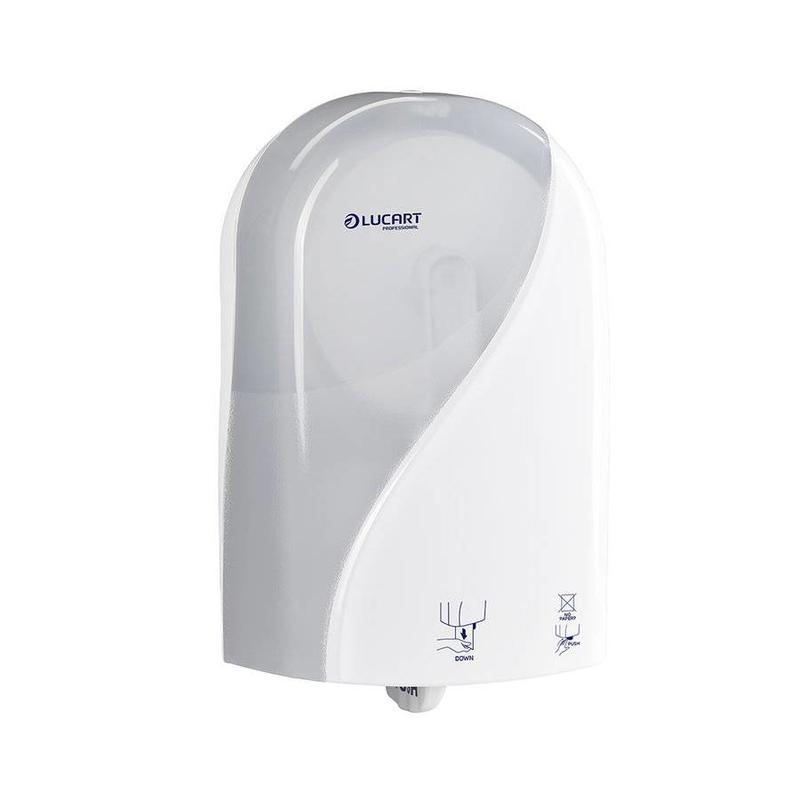 Lucart Toiletpapierdispenser Autocut - Wit