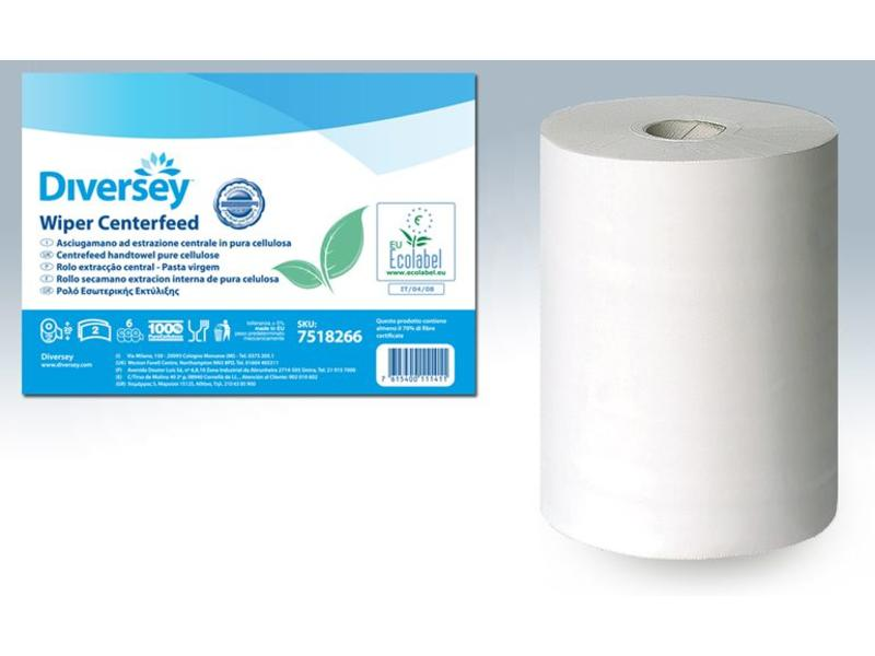 Johnson Diversey Poetsrol Cellulose (2 laags) - 150m