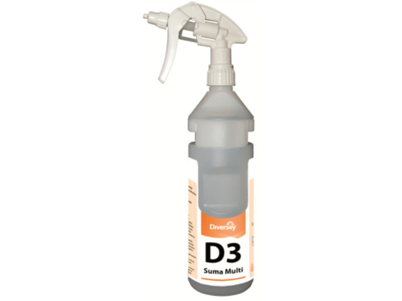 Johnson Diversey Bottle Kit D3 - Diverflow met Sure Link