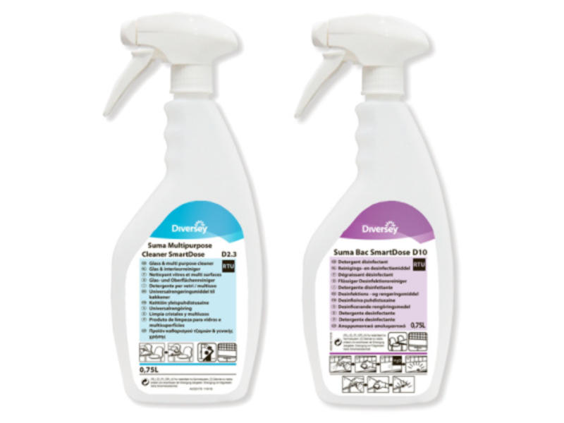 Johnson Diversey SmartDose sproeiflacons 750 ml