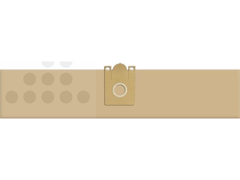 Eigen merk Stofzuigerzakken Nilfisk GD 110 papier - 10 stuks