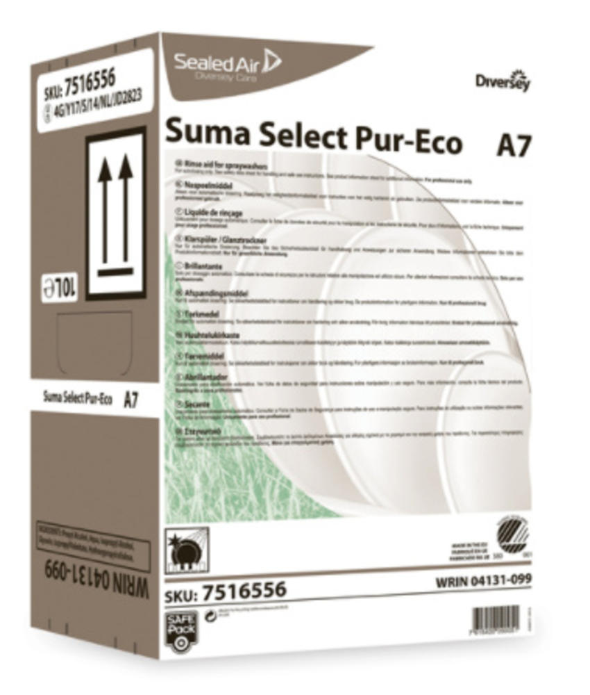 Suma Select Pur-Eco A7 - Safepack 10L