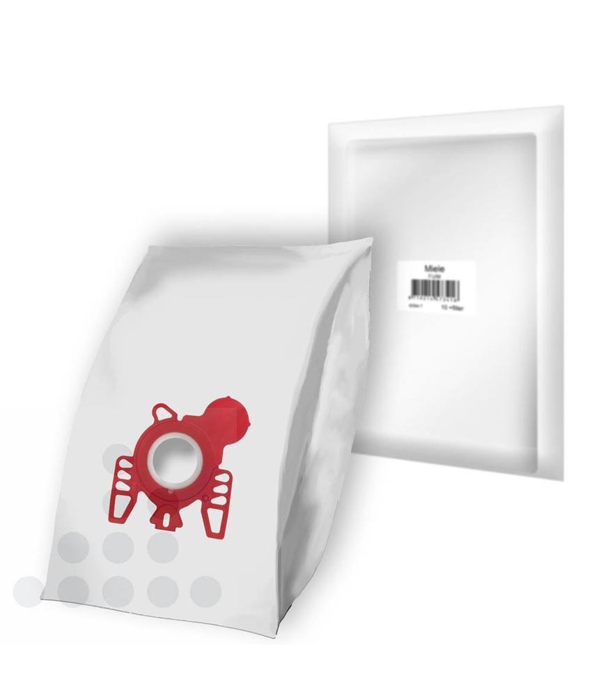 Stofzuigerzakken Miele F/J/M filterplus 3-D - 10 stuks