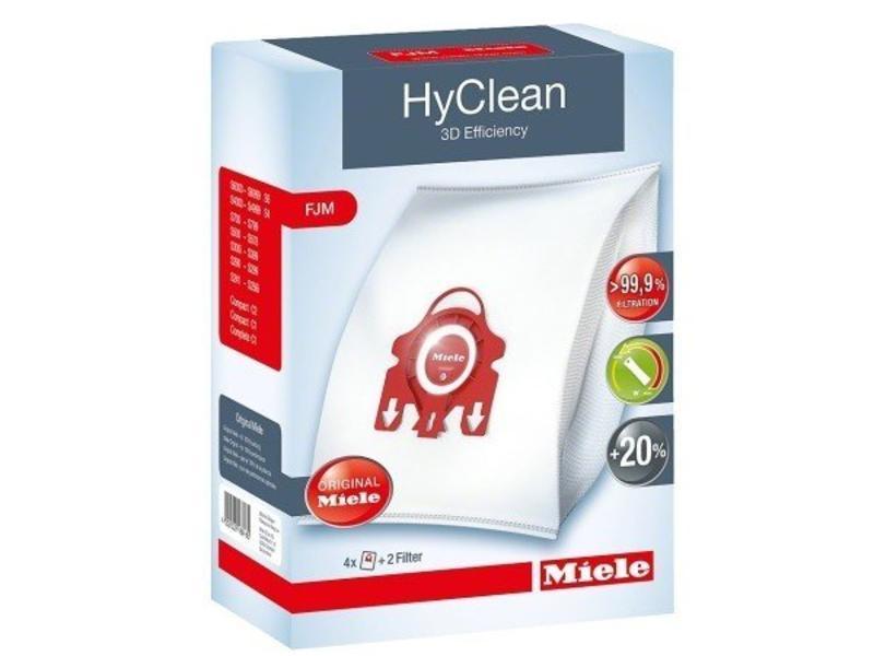 Eigen merk Stofzuigerzakken Miele F/J/M Hyclean 3D origineel - 4 stuks