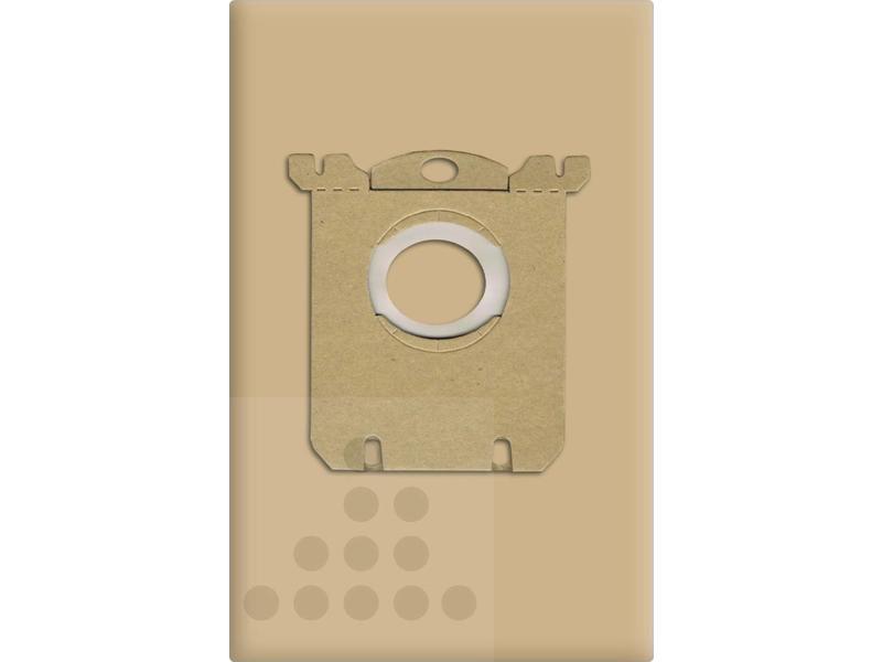 Eigen merk Stofzuigerzakken Philips S-Bag papier - 10 stuks