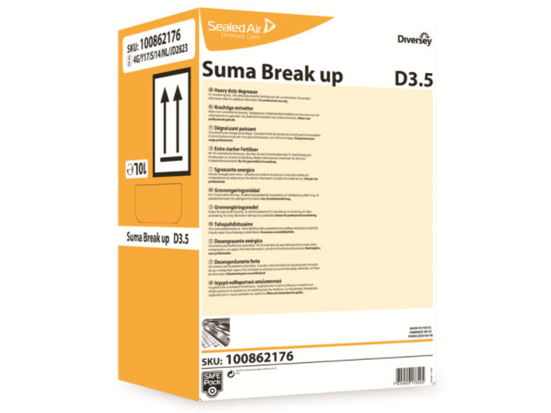 Johnson Diversey Suma Break Up D3.5 - SafePack 10L