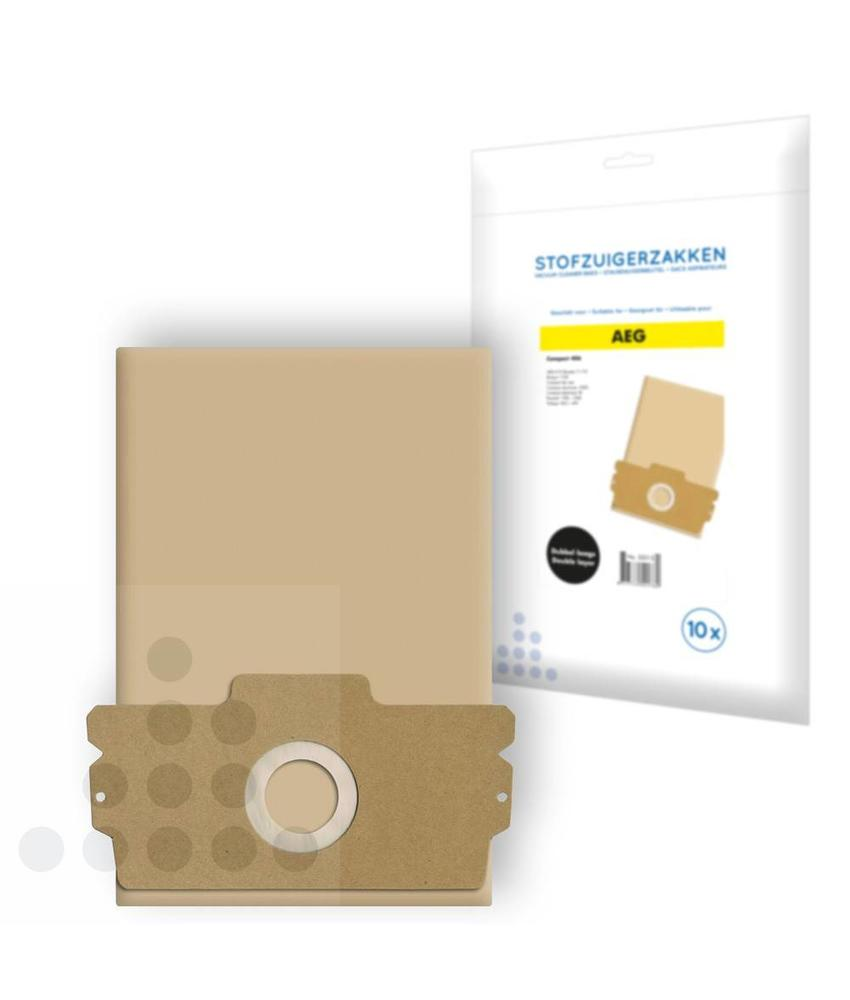 Stofzuigerzakken Aeg Compact 406 papier - 10 stuks