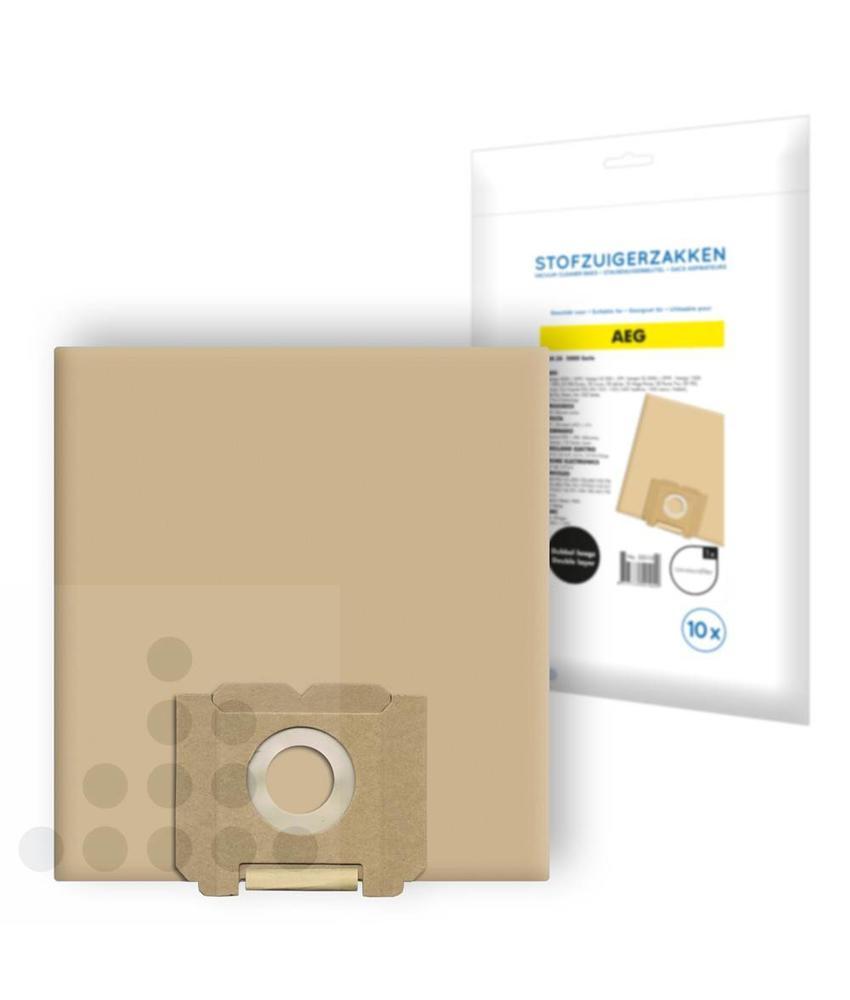 Stofzuigerzakken AEG 5000-serie papier - 10 stuks + filter