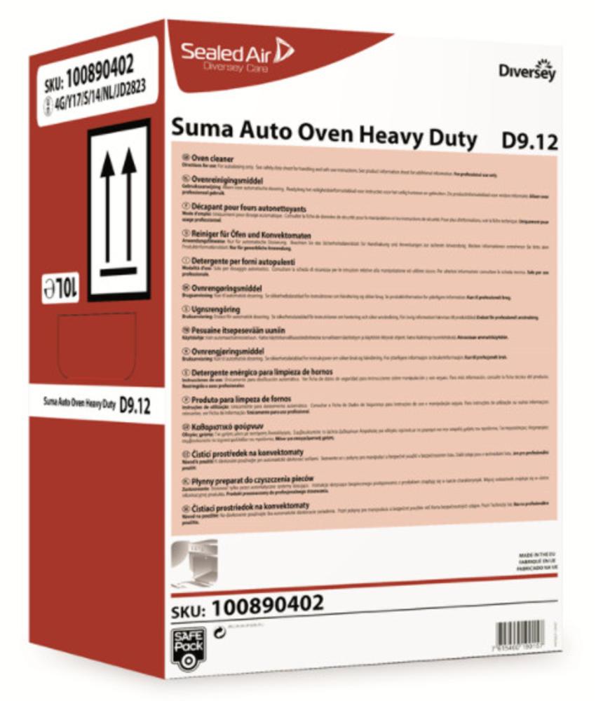 Suma Auto Oven Heavy Duty D9.12 - Safepack 10L