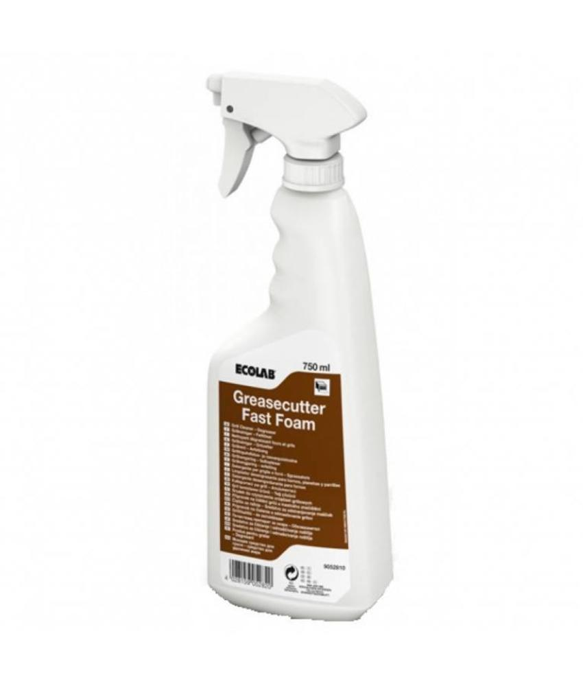 Ecolab Greasecutter Fast Foam 4x750ml
