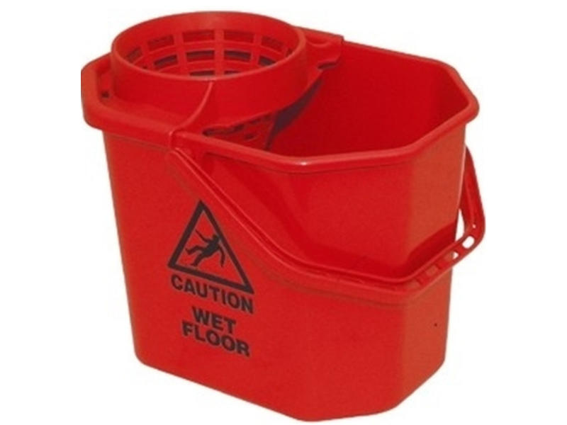Johnson Diversey TASKI Spaanse mopemmer - rood