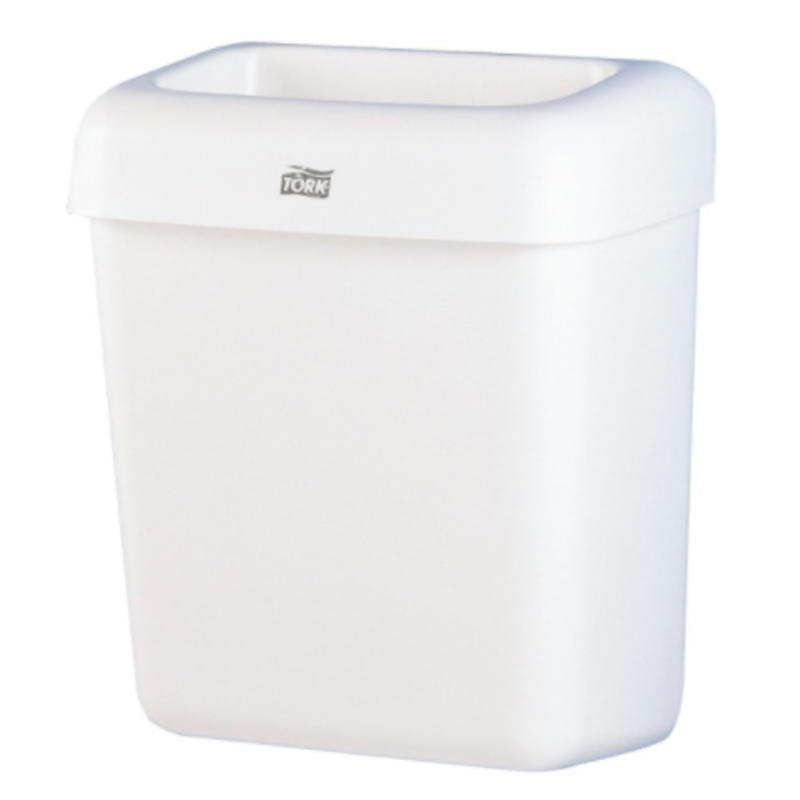 Tork Afvalbak Kunststof Wit 20 liter B2